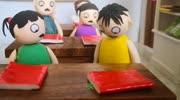 學生考試作弊五花八門,連透視眼都用上了,還是沒逃過老師法眼
