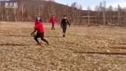 中国冰球跨界跨项集训队苦练技术和体能(视频由冬季运动管理中心提供)