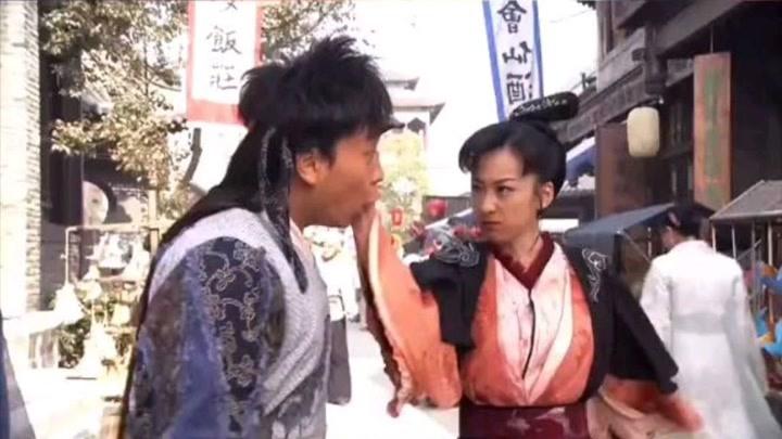 釋小龍被反派女主霸氣訓夫,愛我你怕了么